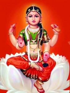 Goddess Bala-Tripura sundari