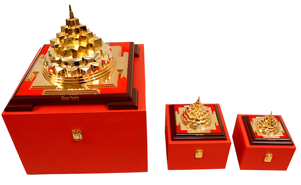 Sri Yantra With Different Sizes