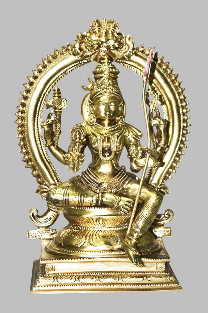 Rajrajeswari Devi statue
