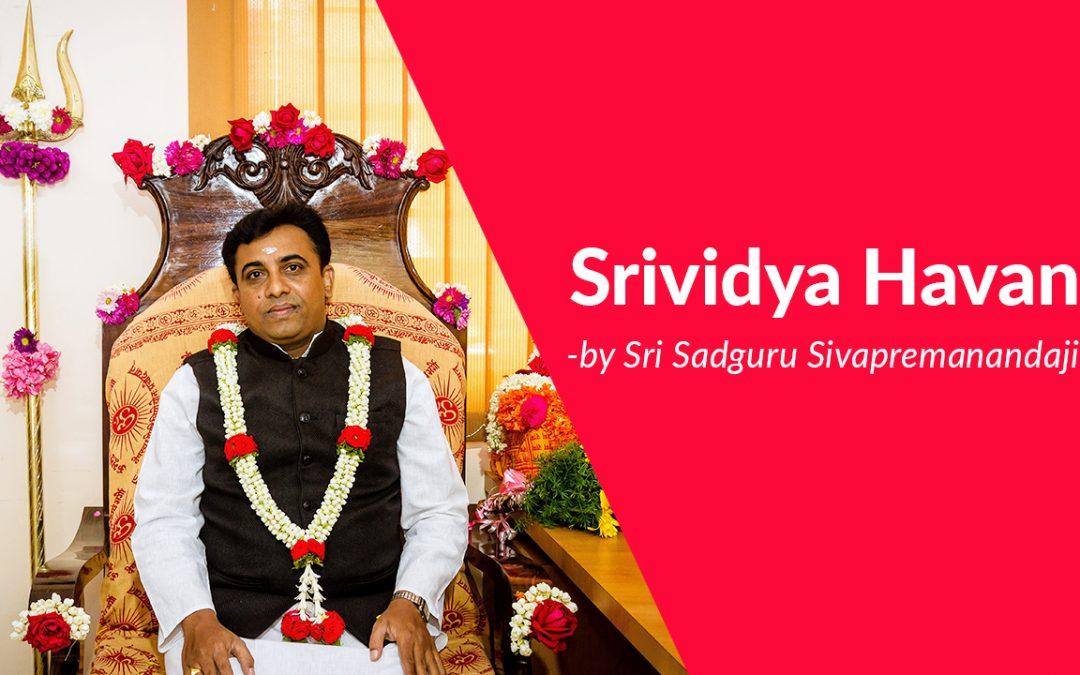 Srividya Havan